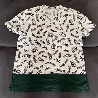ルイヴィトン(LOUIS VUITTON)の大人気 ルイヴィトン ロゴTシャツ(Tシャツ/カットソー(半袖/袖なし))