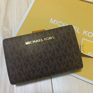 マイケルコース(Michael Kors)のマイケルコース♡二つ折り財布(財布)