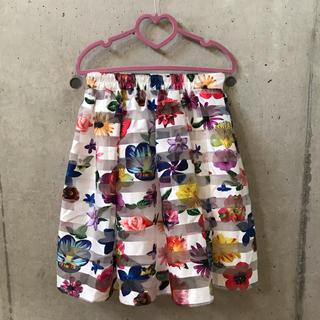 グレイル(GRL)の★GRL★ グレイル カラフル 花柄 スカート (ひざ丈スカート)