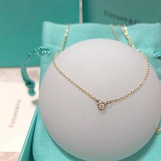 Tiffany & Co. - Tiffanyバイザヤードシルバーダイヤネックレス