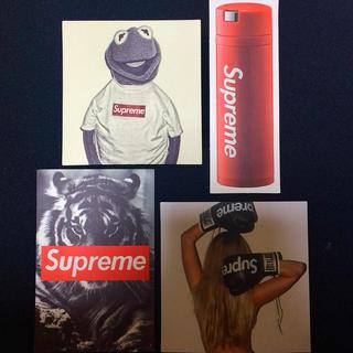 Supreme - supreme ステッカー4枚セット
