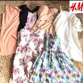 H&M - 【お買い得品 セット】6点セット H&M ワンピース ドレス