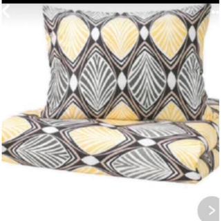 イケア(IKEA)の掛け布団カバー枕カバーセット(シーツ/カバー)