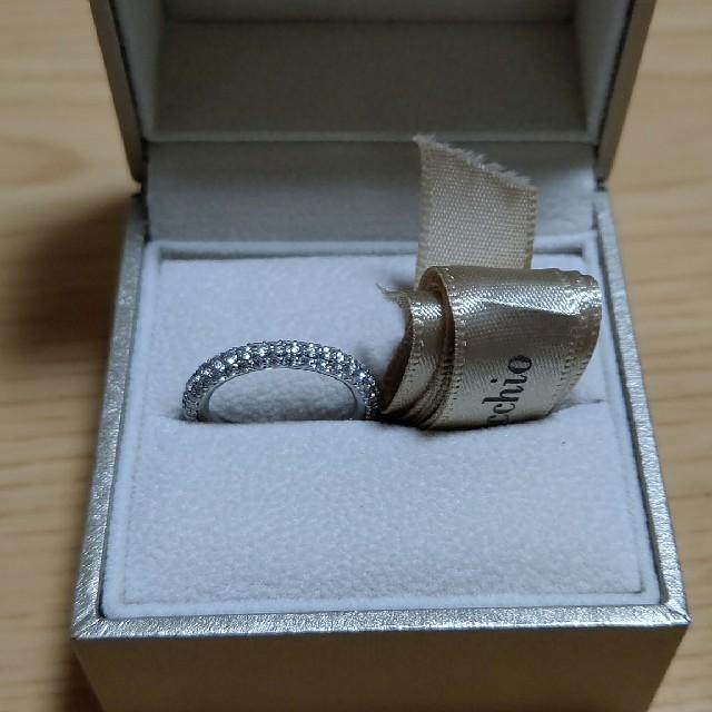PonteVecchio(ポンテヴェキオ)のポンテヴェッキオ✴️エテルノ✴️フルダイヤ✴️9号 レディースのアクセサリー(リング(指輪))の商品写真