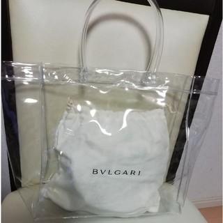 ブルガリ(BVLGARI)のブルガリ BVLGARI 保存袋 ビニールトートバッグ(トートバッグ)