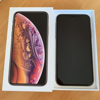 iPhone -  シムフリー 新品 iPhone XS MAX 512GB ゴールド