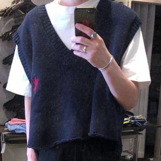 doubletニットセーター(ニット/セーター)