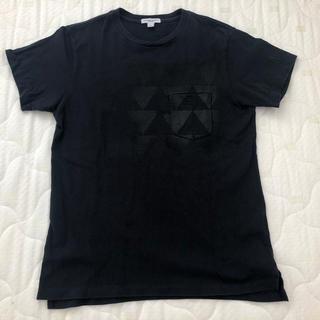 エンジニアードガーメンツ(Engineered Garments)のエンジニアドガーメンツ CROSS NECK T SHIRT Tシャツ ポケT(Tシャツ/カットソー(半袖/袖なし))