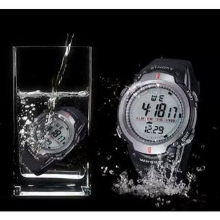 ※訳有 完全防水 30m腕時計 デジタル腕時計
