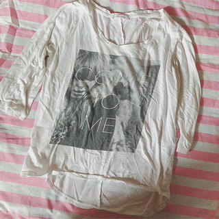 ローリーズファーム(LOWRYS FARM)のローリーズファーム ♡ Tシャツ レディース M(Tシャツ(長袖/七分))