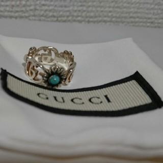 グッチ(Gucci)のGUCCI☆フラワーダブルGリング8号(リング(指輪))