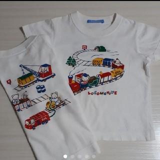 ファミリア プリントTシャツ×2