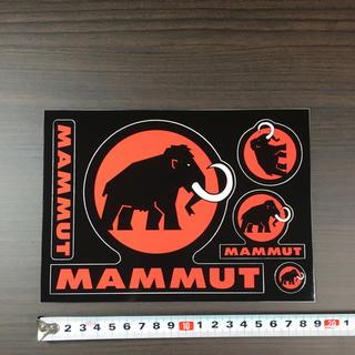 マムート(Mammut)のマムート  ステッカー  1シート 大判 旧ロゴ!非売品(登山用品)