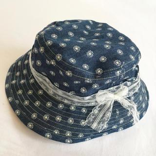 新品【52】帽子 花柄