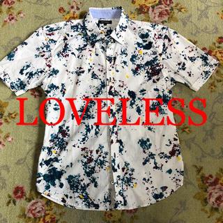 LOVELESS - ★LOVELESS★ 柄シャツ タイト 半袖シャツ