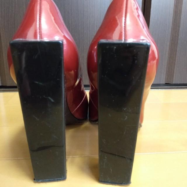 United Nudeのレッドパンプス レディースの靴/シューズ(ハイヒール/パンプス)の商品写真