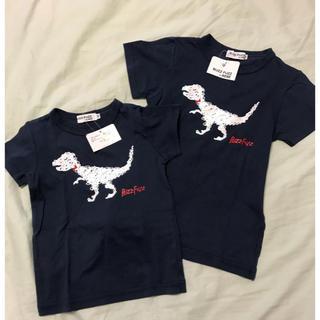 [新品]120&100 恐竜Tシャツ
