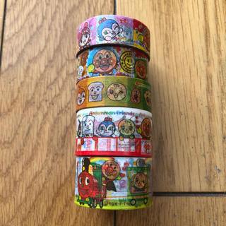アンパンマン(アンパンマン)のアンパンマン マスキングテープ 5本セット(テープ/マスキングテープ)