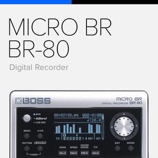 BOSS MICRO BR BR-80 デジタルレコーダー