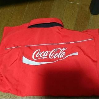 コカコーラ(コカ・コーラ)のコカ・コーラのワイシャツ長袖LLサイズ(シャツ)