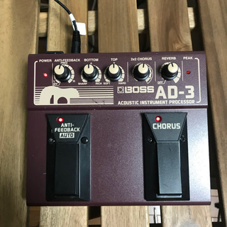 BOSS AD-30 ACOUSTIC INSTRUMENT PROCESSOR
