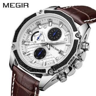 【新品】MEGIR メンズ アナログ腕時計【送料無料】