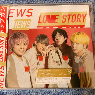 NEWS Love Story/トップガン 初回限定盤