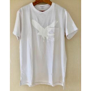 美品 エンジニアードガーメンツ プリント Tシャツ ホワイト M