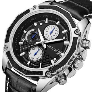 【新品】MEGIR メンズ アナログ腕時計【送料込】