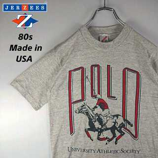 410 JERZEEZ 美品 ヴィンテージ Tシャツ USA製 POLO