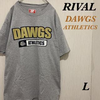 RIVAL DAWGS Tシャツ プリント スポーツMix 古着