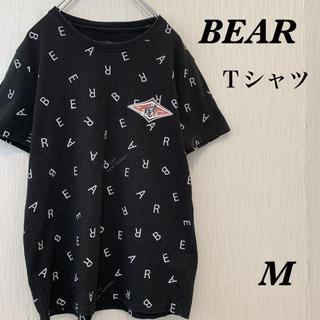 BEAR Tシャツ 古着 派手 プリント