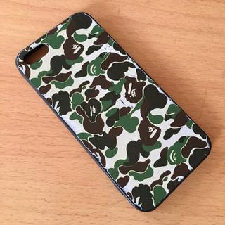 アベイシングエイプ(A BATHING APE)のiPhone 5S SE  A BATHING APE風ケース TPU エイプ(iPhoneケース)