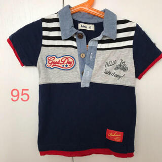 BOBSON 襟付きTシャツ 95【美品】