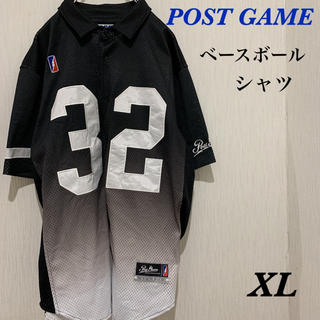 POST GAME ベースボールシャツ ポストゲーム オーバーサイズ