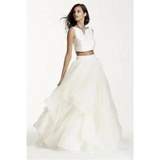 ヴェラウォン(Vera Wang)の【値下げ】Dabid Bridal風 セパレートドレス(ウェディングドレス)