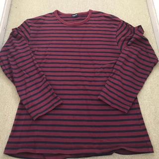 ユニクロ(UNIQLO)のUNIQLO ユニクロ 長袖 Tシャツ ストライプ XL(Tシャツ/カットソー(七分/長袖))
