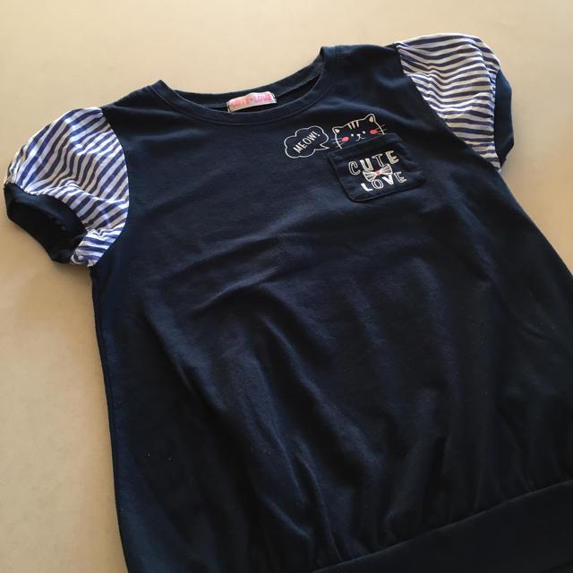 しまむら(シマムラ)の150センチTシャツ キッズ/ベビー/マタニティのキッズ服 女の子用(90cm~)(Tシャツ/カットソー)の商品写真