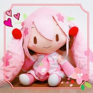 新品 初音ミク スペシャルふわふわぬいぐるみ 桜ミク