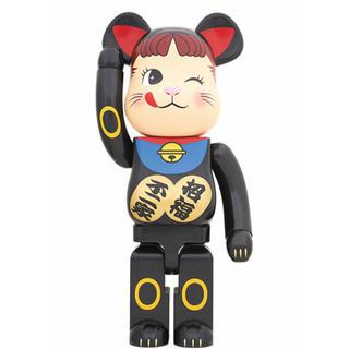 BE@RBRICK 招き猫 ペコちゃん 黒