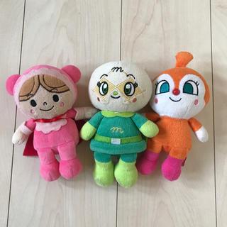 ♡赤ちゃんマン+メロンパンナちゃん+ドキンちゃん ぬいぐるみ♡