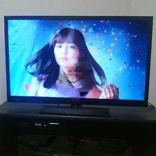 シャープ AQUOS 40型液晶テレビ ☆★ Buffalo製 外付けHDD付き