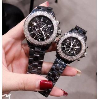 シャネル(CHANEL)のシャネル腕時計 電池型 6針J12 大人気(腕時計)
