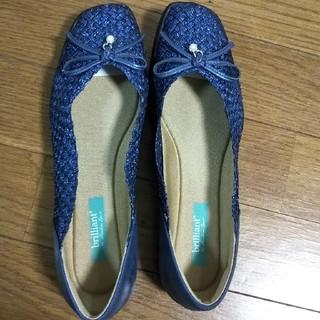 ホーキンス(HAWKINS)のABCマート ホーキンス 靴 24.5cm 紺(ハイヒール/パンプス)