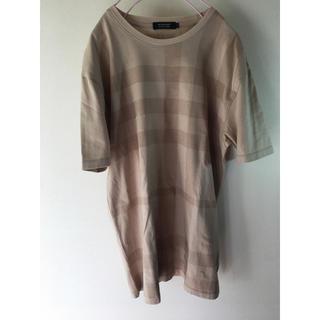 バーバリー(BURBERRY)の大きめバーバリーノバチェックデザイン。Tシャツ。(Tシャツ/カットソー(半袖/袖なし))