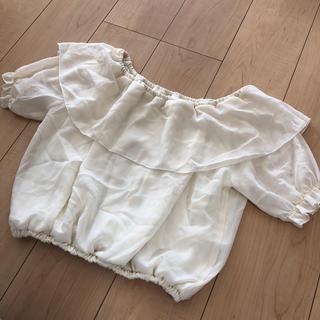 グレイル(GRL)のトップス ブラウス GRL(シャツ/ブラウス(半袖/袖なし))