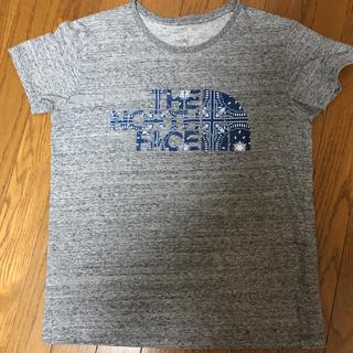 ザノースフェイス(THE NORTH FACE)のノースフェイス Tシャツ M ミックスグレー(Tシャツ(半袖/袖なし))