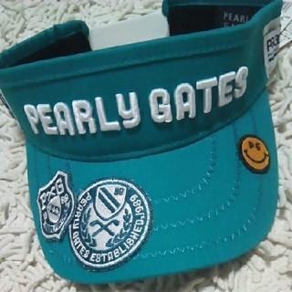 PEARLY GATES - 新作 新品 パーリーゲイツ サンバイザー