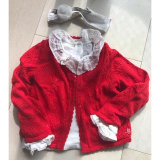 ベビーディオール(baby Dior)のbaby Dior超美品(カーディガン/ボレロ)