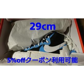 ナイキ(NIKE)のNIKE SACAI BLAZER MID Blue 29cm(スニーカー)